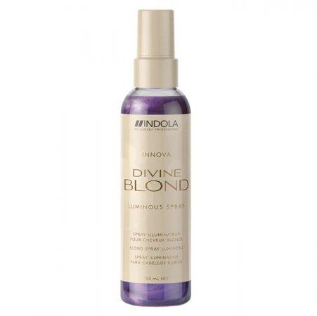 Indola Divine Blond, spray rozświetlający do włosów blond, 150ml
