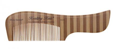 Olivia Garden Healthy Hair, grzebień bambusowy HH-C2