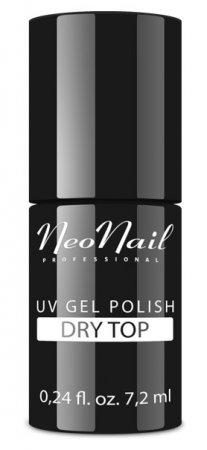 NeoNail Dry Top, przezroczysty top bez przemywania, 7,2ml