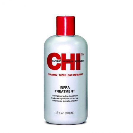 CHI Infra Treatment, zasadowa odżywka do włosów farbowanych, 350ml