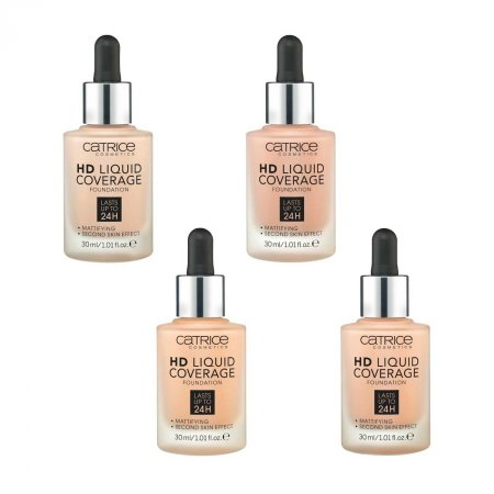 Catrice HD Liquid Coverage Foundation, podkład w płynie, 30ml