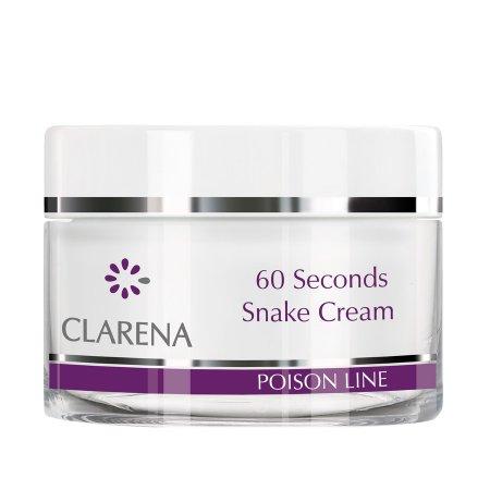Clarena Poison Line, liftingujacy i przeciwzmarszczkowy krem z jadem węża, 50ml