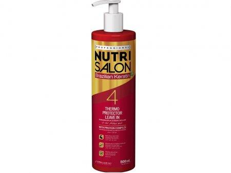 NutriSalon Brazilian Keratin, odżywka termoochronna, krok 4, 500ml