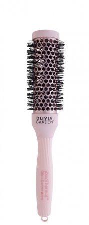 Olivia Garden Pro Thermal Pastel Pink, szczotka termiczna, różowa, 33mm