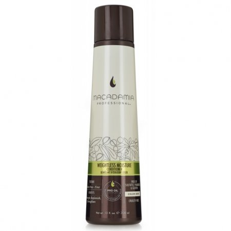 Macadamia Professional Weightless Moisture, nawilżająca odżywka do włosów cienkich, 300ml