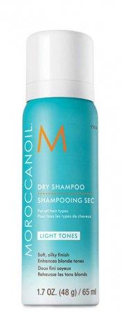 Moroccanoil, suchy szampon do włosów jasnych, 65ml
