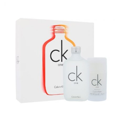 Calvin Klein One, zestaw perfum EDT 100ml + 75ml deostick (U)