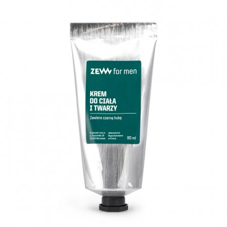 ZEW for Men Care, krem do ciała i twarzy, 80ml