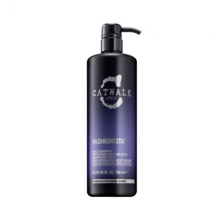 Tigi Catwalk Fashionista, szampon do blondów i pasemek, 750ml