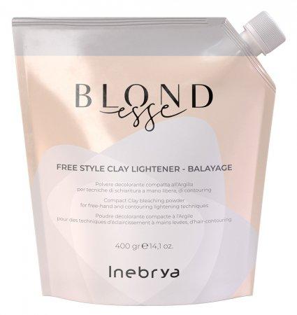 Inebrya Blondesse Clay, glinka rozjaśniająca, 400ml