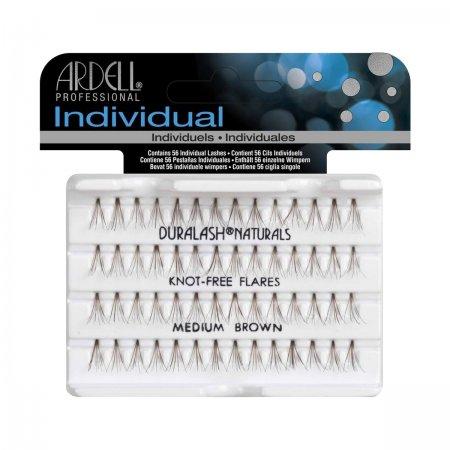 Ardell Individual, kępki rzęs, brązowe średnie, ref. 65053