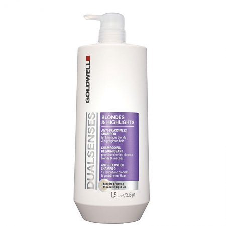 Goldwell Dualsenses Blondes&Highlights, szampon do włosów blond i z pasemkami, 1500ml