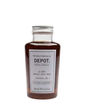 Depot No. 601, delikatny żel do mycia, Orginal Oud, 250ml