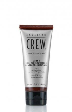 American Crew, odżywczy krem 2w1 do twarzy i brody, 100ml