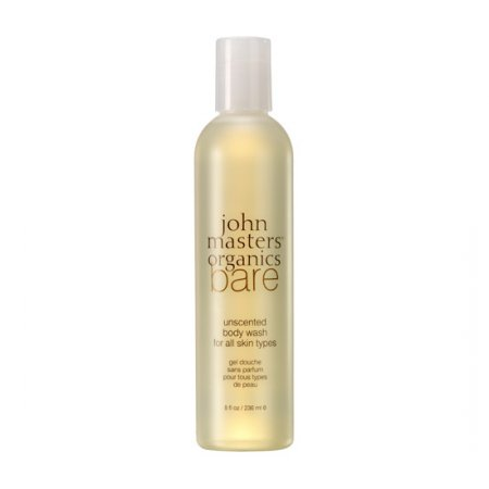 John Masters Organics Bare, bezzapachowy żel do mycia ciała, 236ml