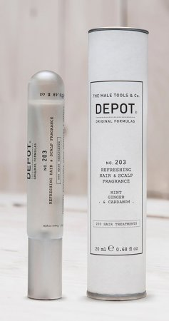Depot No. 203, odświeżający spray do włosów, 20ml