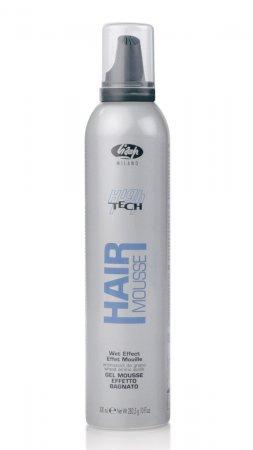 Lisap High-Tech, pianka w żelu efekt mokrych włosów, 300ml