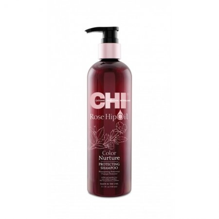 CHI Rose Hip Oil, szampon ochronny, 340ml