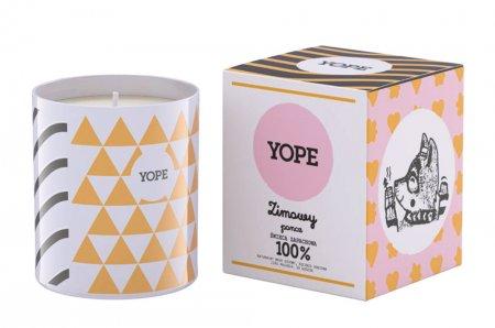 Yope, Zimowy Poncz, naturalna świeca, 200g