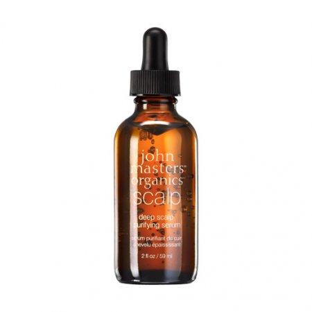 John Masters Organics Scalp, oczyszczające serum do skóry głowy, 59ml