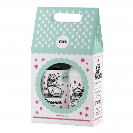 Yope Zimowa Herbata, zestaw prezentowy Mydło + Balsam