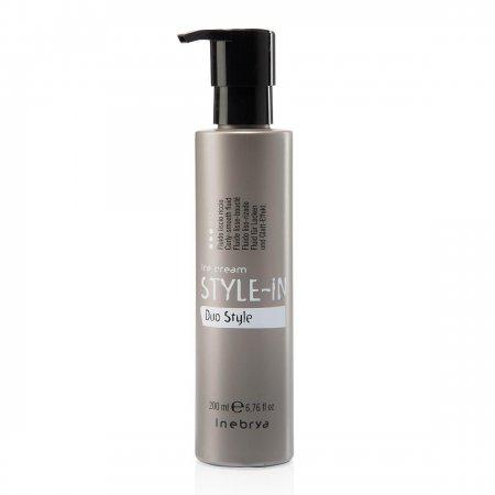 Inebrya Style-In Duo Style, odżywczy fluid do definiowania włosów kręconych, 200ml