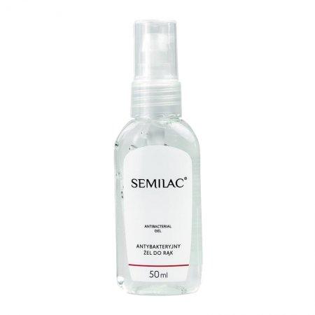 Semilac Antibacterial Gel, antybakteryjny żel do rąk, 50ml