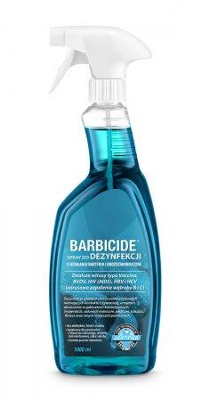 Barbicide, spray do dezynfekcji wszystkich powierzchni (bez zapachu), 1000ml