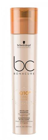 Schwarzkopf BC Time Restore Q10+, micelarny szampon do włosów dojrzałych, 250ml