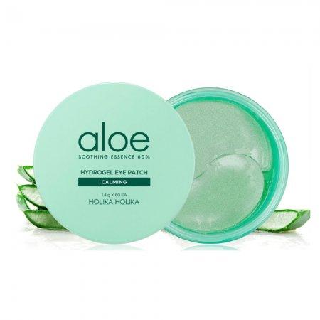 Holika Holika Aloe, aloesowe płatki pod oczy, 60szt.