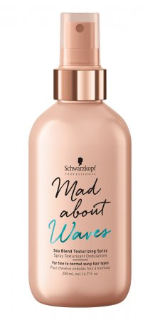 Schwarzkopf Mad About Waves, spray tekturyzujący na morski styl, 200ml