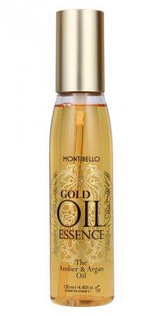 Montibello Gold Oil Essence, bursztynowo-arganowy olejek do włosów 130 ml