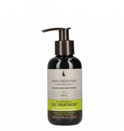 Macadamia Professional Vege, odżywczy olejek do włosów normalnych, 125ml
