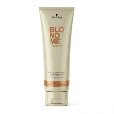 Schwarzkopf BlondMe, szampon do włosów w odcieniach ciepłego blondu, 250ml
