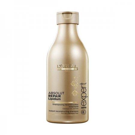 Loreal Absolut Repair Lipidium, szampon regenerujący włosy uwrażliwione, 250ml