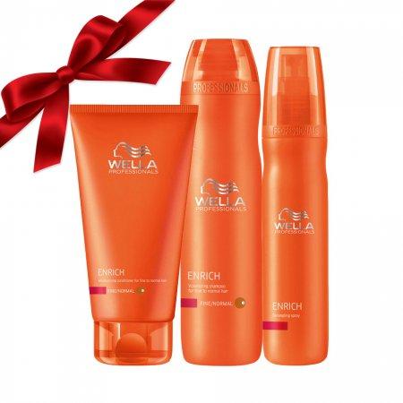 Prezent: zestaw Wella do pielęgnacji włosów suchych, cienkich i delikatnych