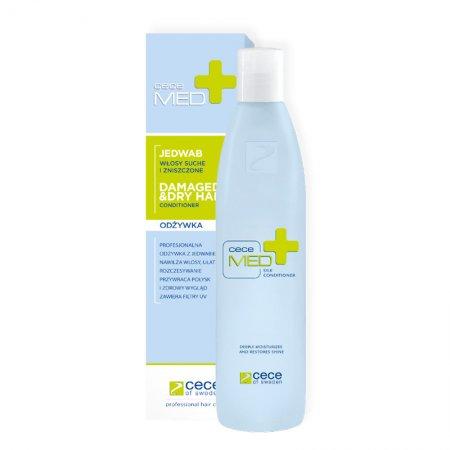 CeCe Med, odżywka do włosów suchych z jedwabiem, 1000ml