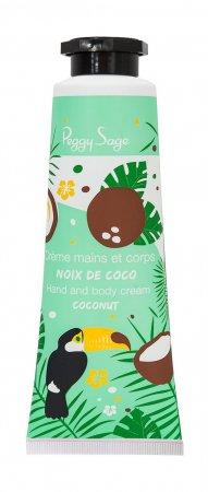 Peggy Sage, krem do rąk, kokos, 30ml, ref. 120378