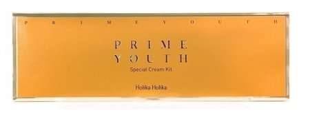 Holika Holika Prime Youth Cream 4 Kit, zestaw kremów, 4x10ml