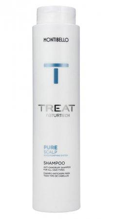 Montibello Treat Naturtech, szampon do włosów z łupieżem Pure Scalp, 300 ml