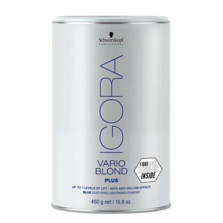 Schwarzkopf Igora Vario Blond Plus, rozjaśniacz w proszku, 450g
