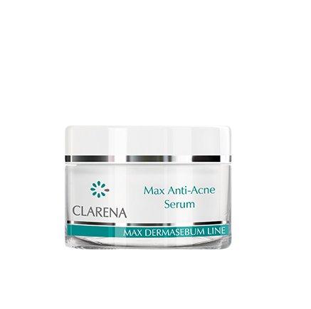 Clarena Max Dermasebum Line, serum przeciwtrądzikowe, 15ml