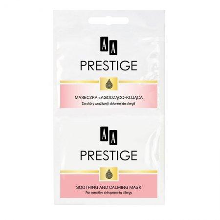 AA Prestige, łagodząco-kojąca maseczka do twarzy, saszetka, 2x5ml