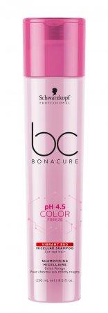 Schwarzkopf BC Color Freeze pH 4.5, micelarny szampon do czerwonych odcieni, 250ml
