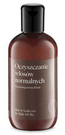 Make Me Bio, delikatnie pieniący się szampon do włosów normalnych, 250ml