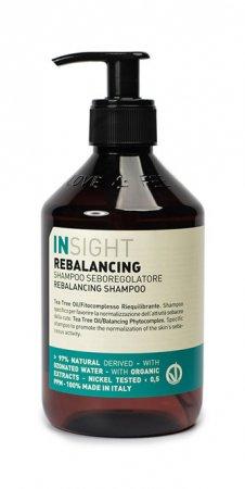 InSight Rebalancing, szampon do włosów przetłuszczających się, 400ml