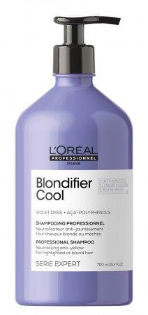 Loreal Blondifier Cool, szampon ochładzający odcienie blond, 750ml