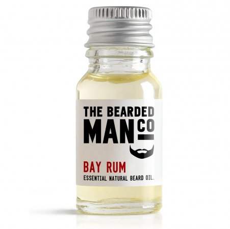 Bearded Man Bay Rum, olejek do brody Zatoka Rumowa, 10ml