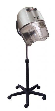 Fox Air, suszarka hełmowa, wersja stojąca, srebrna
