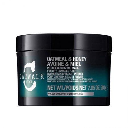 Tigi Catwalk Oatmeal&Honey, maska głęboko nawilżająca, 200 ml